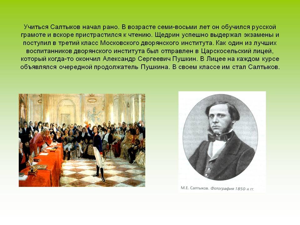 сочинение по литературе 7 класс по сказкам салтыкова щедрина